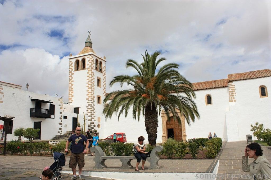 Plaza mayor Betancuria
