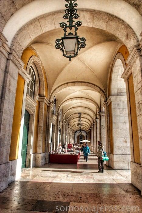 Arcos de la plaza do Comercio