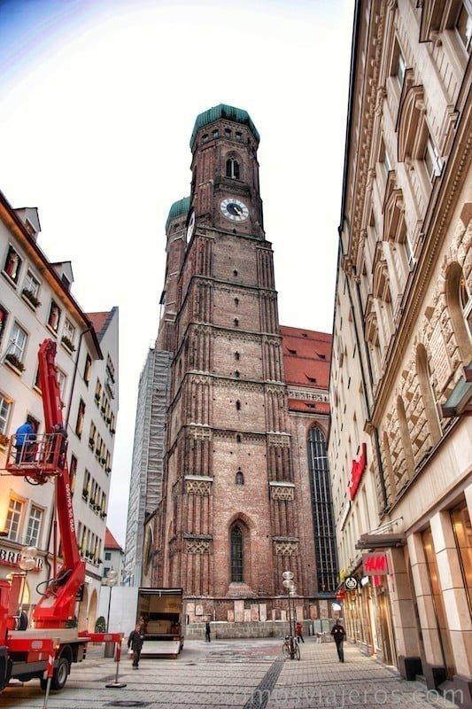 catedral de munich cerca de Marienplatz