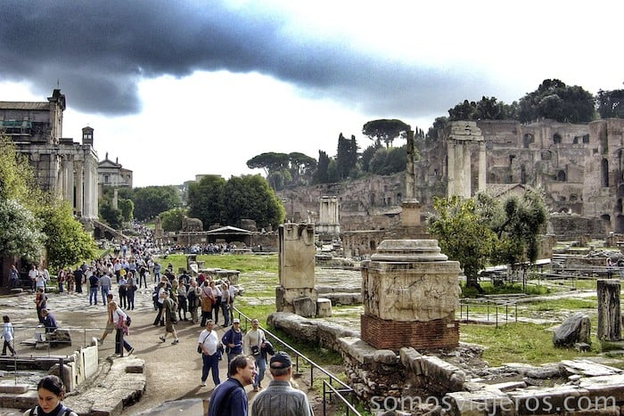 Que ver en Roma. Foro de Roma y monte palatino14