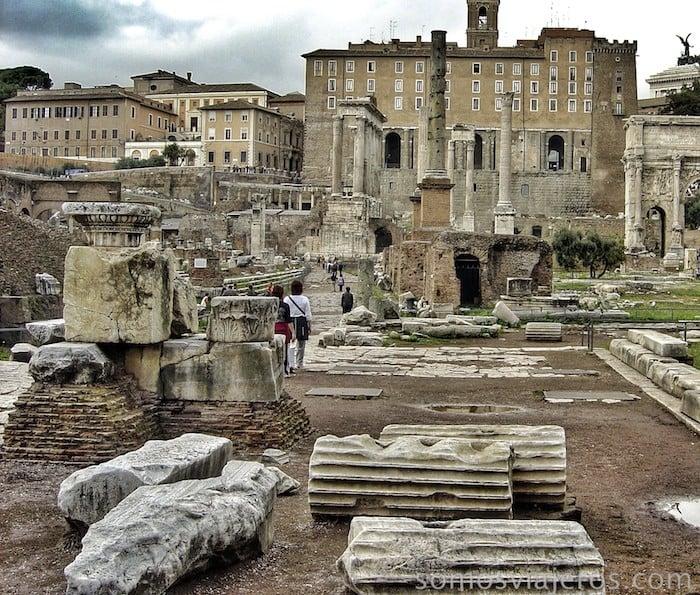 Foro de Roma y monte palatino18