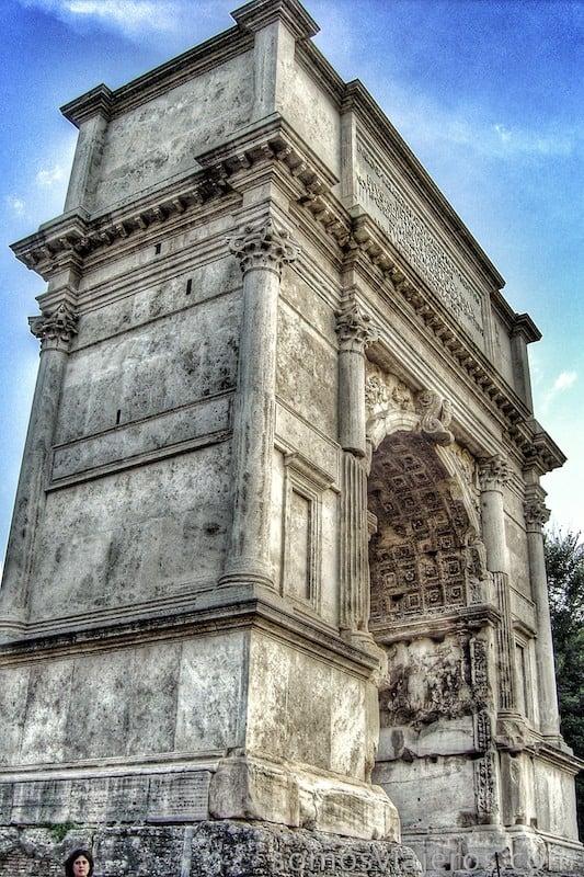 que ver en Roma. Arco de Tito