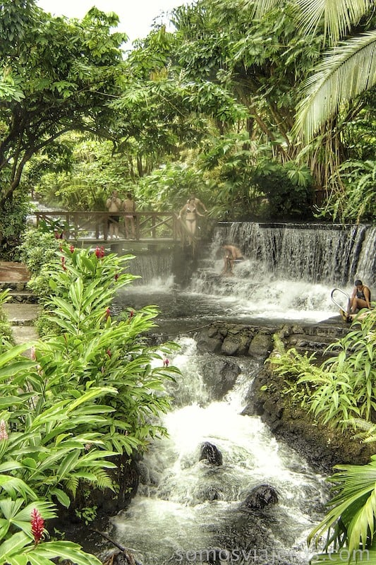 Lugares de baño en medio de la naturaleza