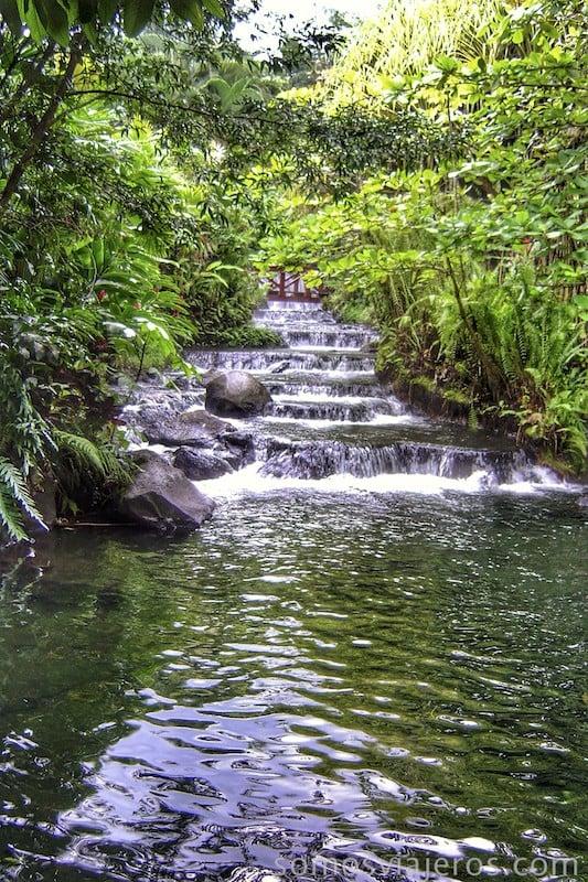 Viaje a Costa Rica. Cascada Tabacon Resort Costa Rica