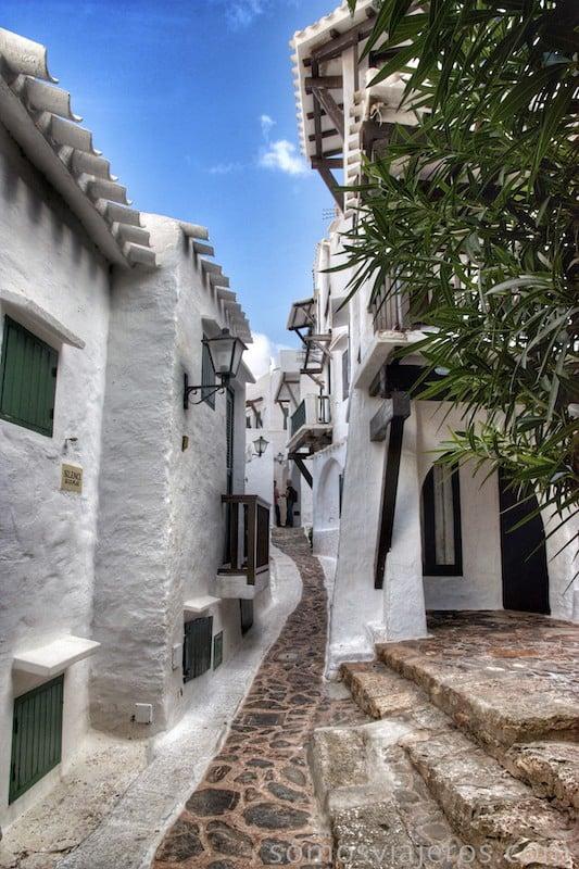 Binibéquer y sus calles estrechas
