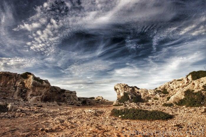 Cielo de Menorca