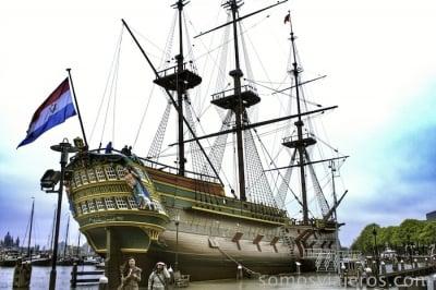 viaje a Amsterdam. Museo marítimo