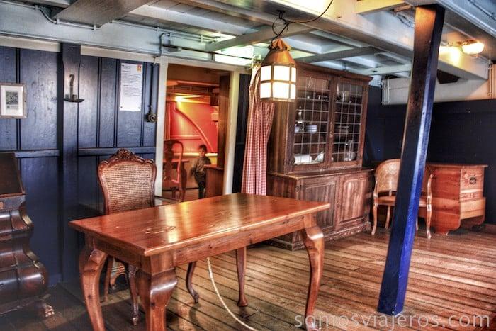 museo marítimo de amsterdam con niños6