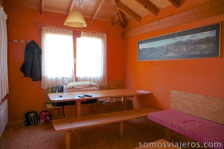 comedor chalet Berga Resort