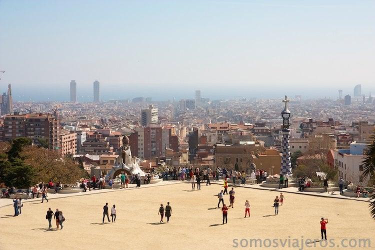 Vista de Barcelona desde las alturas (9)