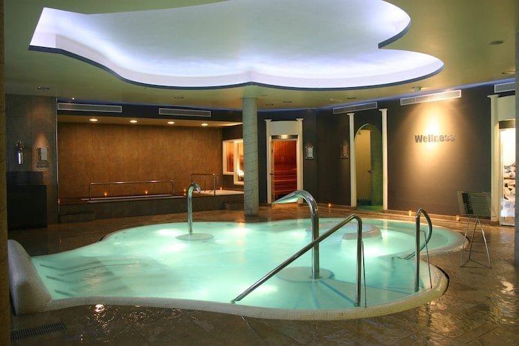 Berga Resort circuito aguas. vista general