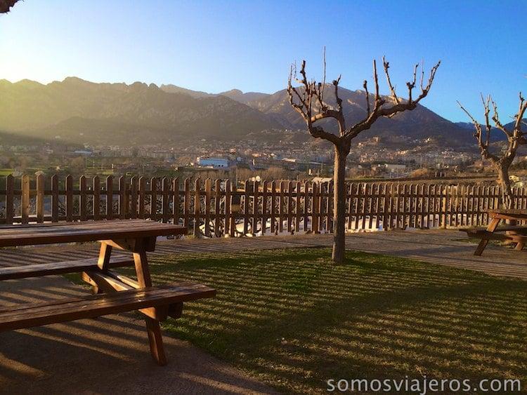 Atardecer en Berga Resort