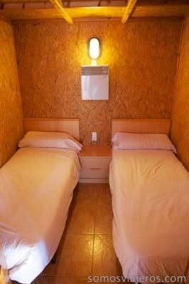 habitación dobre en chalet Berga Resort