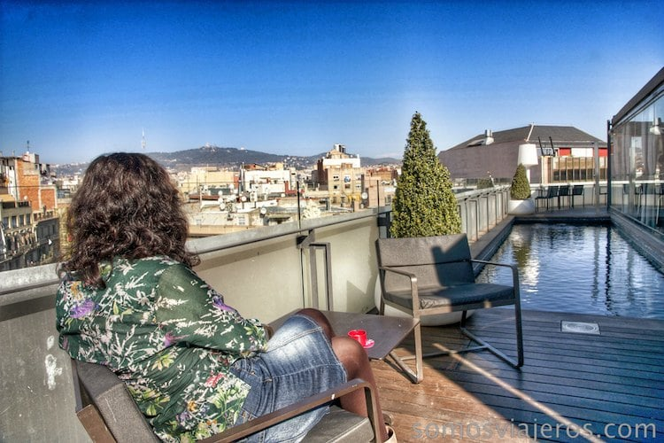 terraza hotel Cram