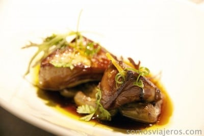 Papillote de foie gras