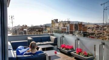 Escapada gastro-romántica en Barcelona. Hotel Cram y restaurant Angle