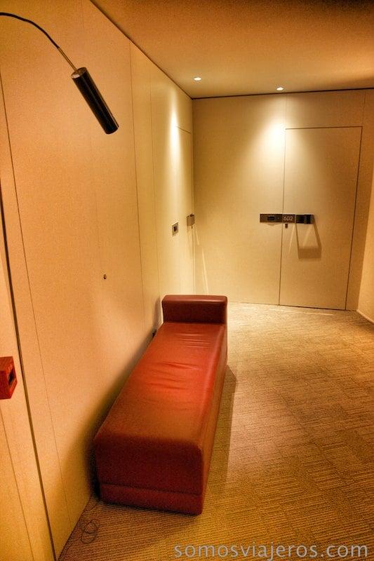 detalle en los pasillos