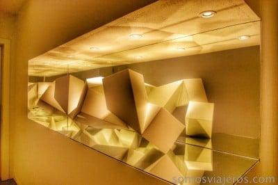decoración hotel Cram