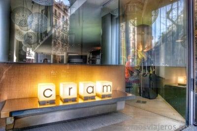 Entrada Hotel Cram Barcelona