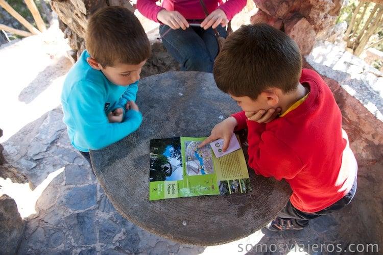 Revisando el mapa de los jardines de can artigas de antoni gaudi