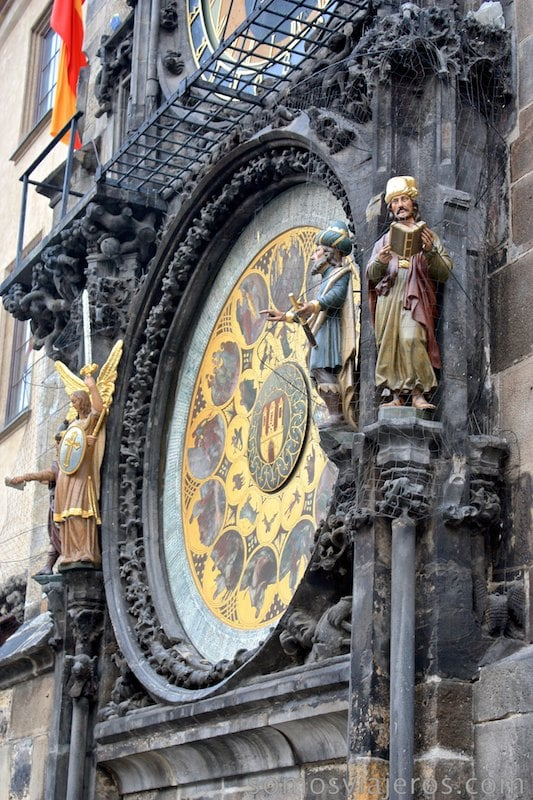 Estatuas calendario de Praga