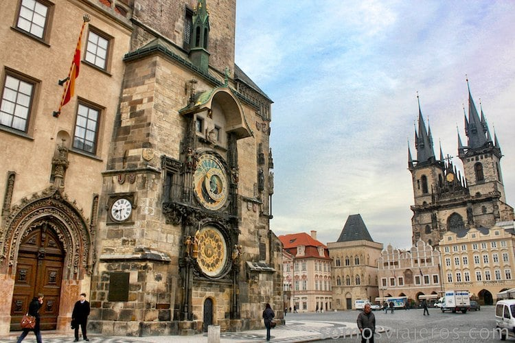 cosas que ver en praga. plaza reloj astronómico de Praga