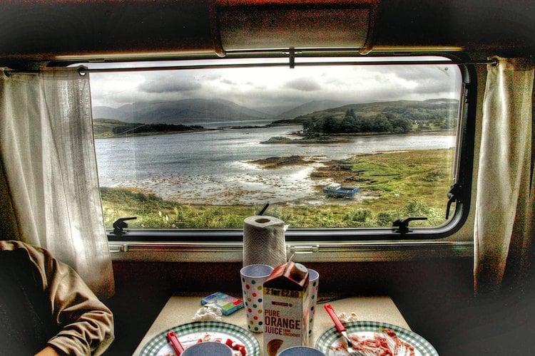 prados desde la caravana