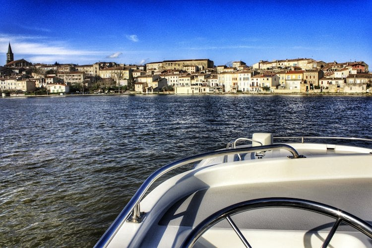 navegando por los canales del sur de francia