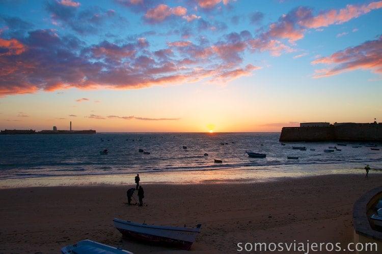 atardeceres de Cádiz