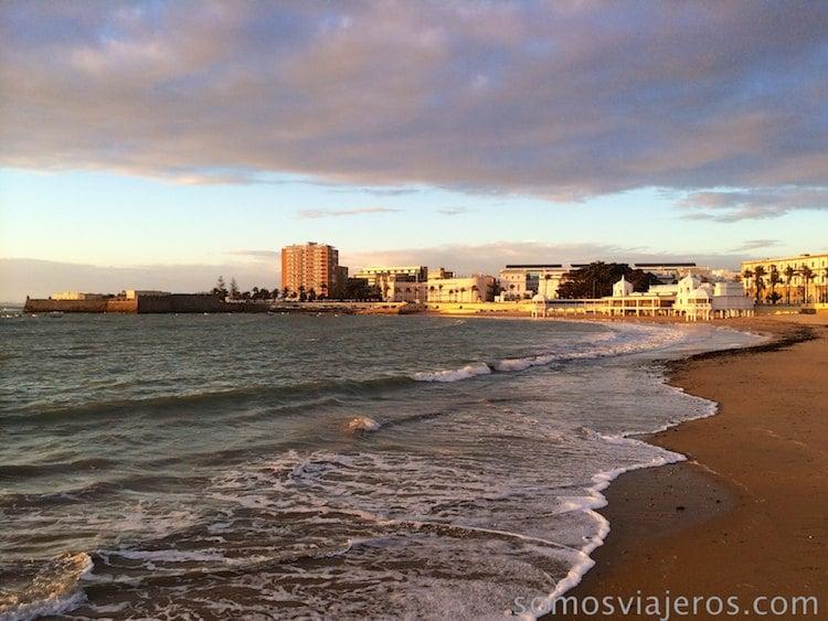 Cae la tarde en Cádiz