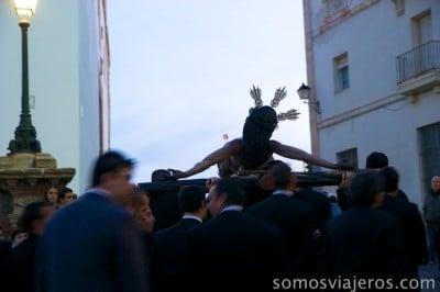 Cristo en Cádiz