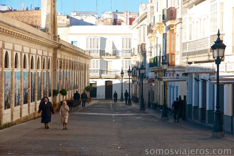 Viaje a Cádiz. La mañana en el mercado