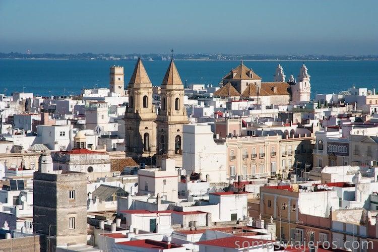 Viaje a Cádiz. Vista de la ciudad