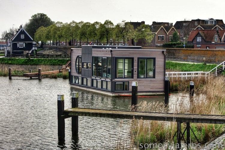 Casa en el mar en Holanda