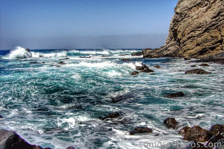 La gomera y el mar5