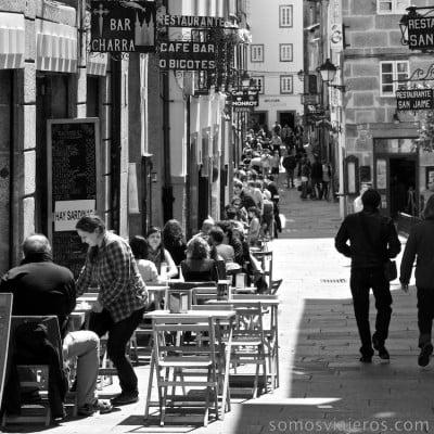 terrazas al sol en Santiago