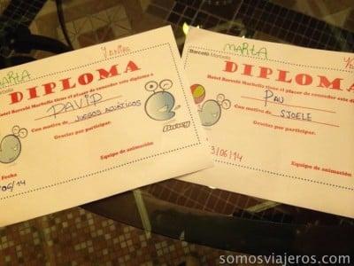 diplomas barceló marbella