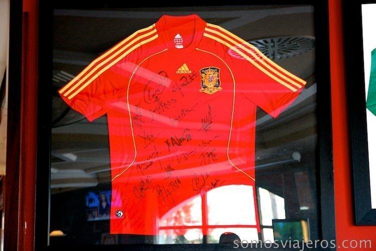 foto camiseta España