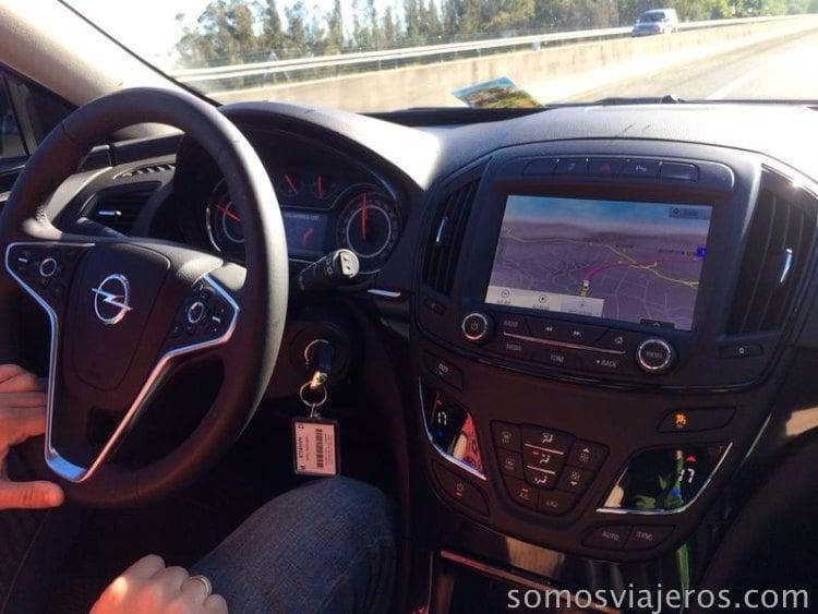 interior coche Sixt