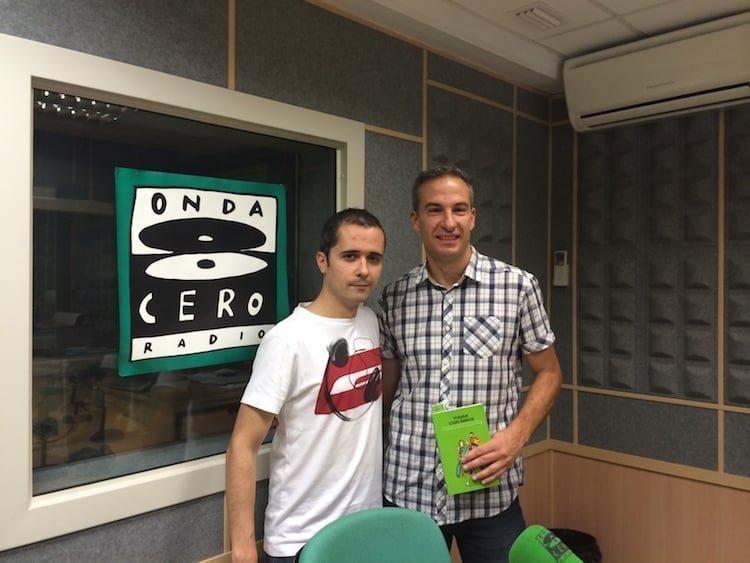 entrevista de radio en Onda Cero Tarragona con Pablo Alcaraz