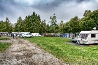 camping en lago lomond