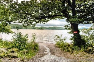 entrada al lago lomond