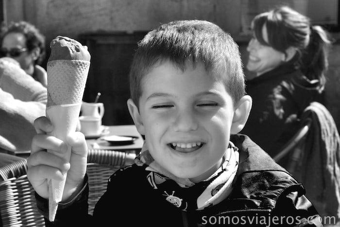 santiago al sol niño helado
