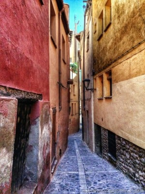 calles estrechas de Tarazona
