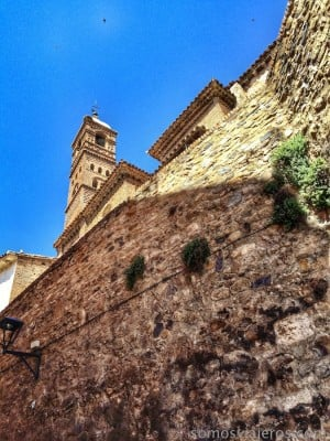 subiendo a la iglesia de la magdalena
