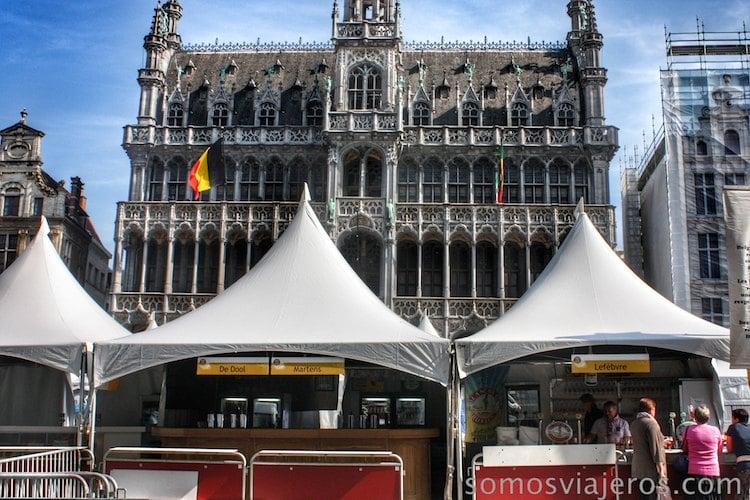 grand place bruselas  Casa del Rey