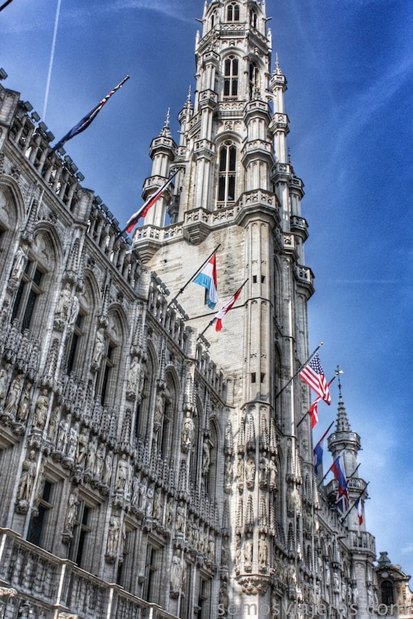 grand place bruselas ayuntamiento