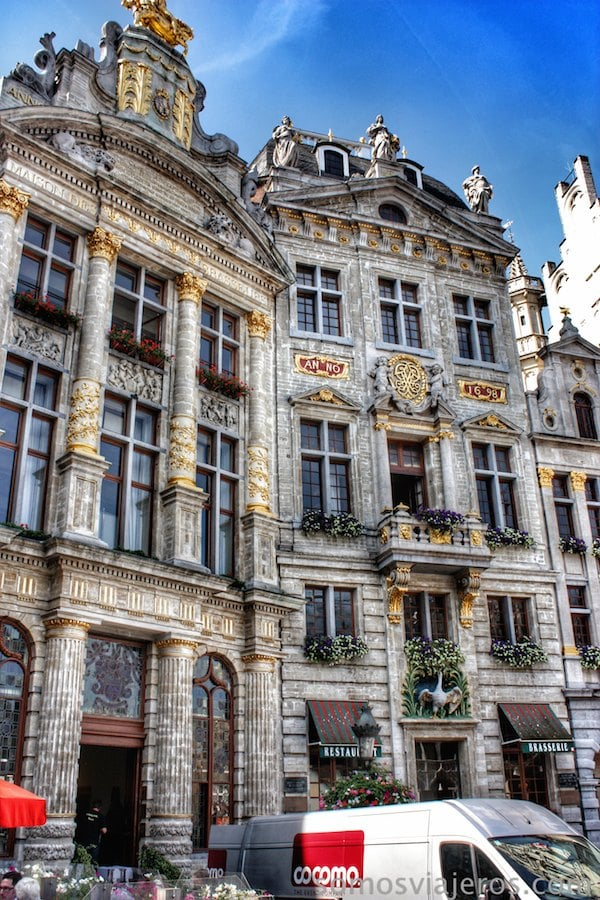 grand place bruselas casas gremiales