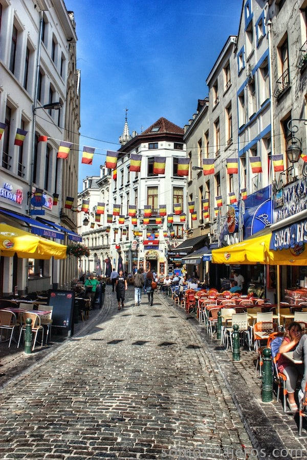 calles cercanas a la grand place bruselas