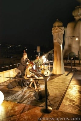 Jazz en La Pedrera